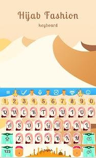 Hijab Fashion Keyboard - náhled
