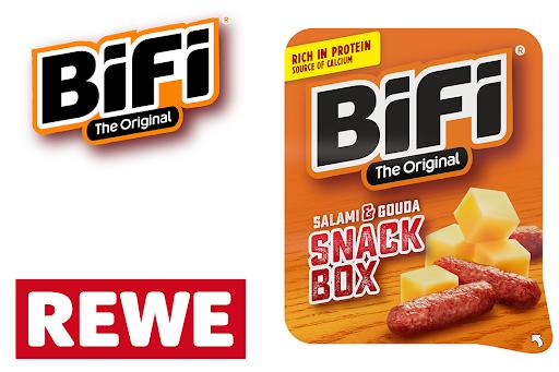 Bild für Cashback-Angebot: Die BiFi Snack Box Original - Bifi