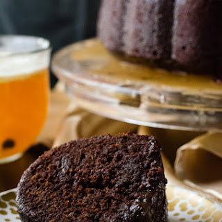 Hot Chocolate Buttered Rum Bundt #BundtBakers