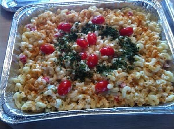 I Made My Macaroni For My Sister's Birthday Party For 50 People. There Was None Left Over....i Also Made Potato Salad And Cole Slaw..all Gone. :)