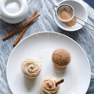 Gluten Free Snickerdoodle Cupcakes.