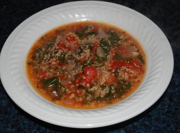 Quinoa And Spinach Soup Recipe