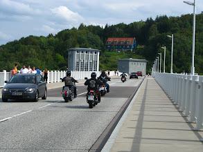 Photo: Tu w tunelu i na tamie odbywały się popisy motocyklistów.