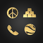 Solid Gold - Icon Pack (Free Version) 3.1.3