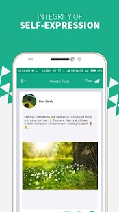 ConnectSocial: Secure & Ad-Free Social Network Screenshot