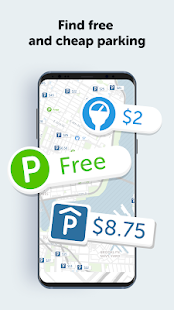 SpotAngels Live Parking Maps Screenshot