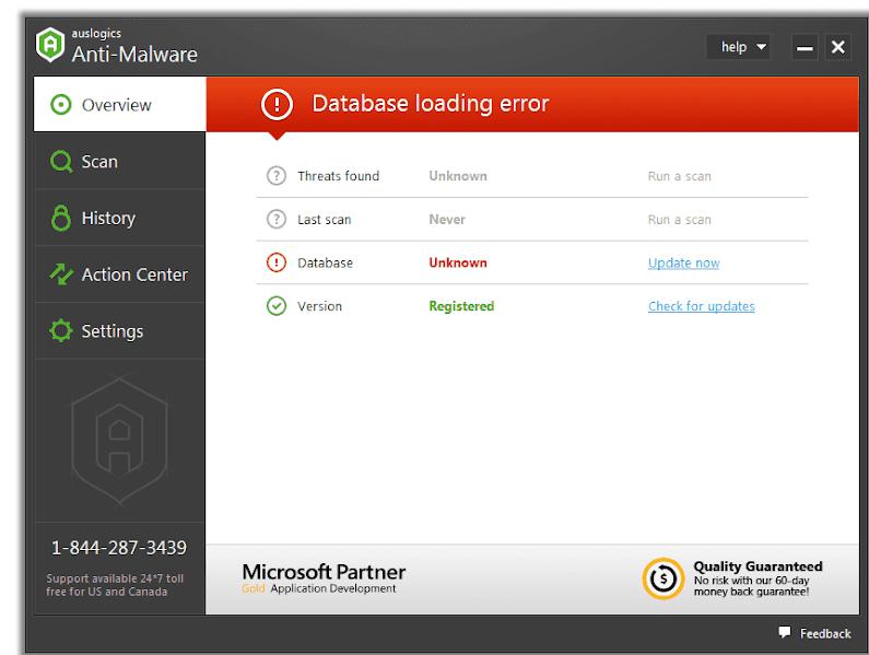 Phần mềm Auslogics Anti-Malware 2018