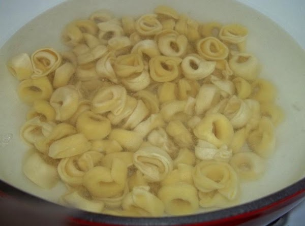 Have your pasta cooking at the same time you are making your sauce, so...
