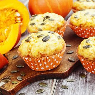 Pumpkin-Cardamom Muffins