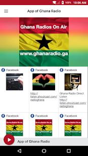 App of Ghana Radio - náhled