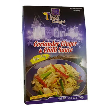 Coriander Ginger & Chili Sauce 130 g Thai Delight