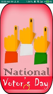 National Voters Day - náhled