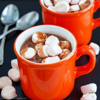 Hot Chocolate Spiked With Rum