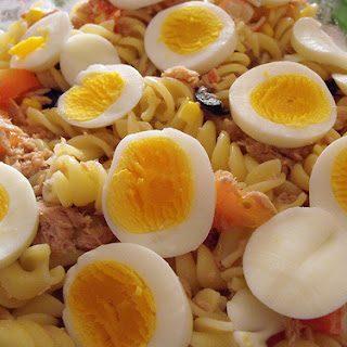 Salad with Tuna Pasta Recipe