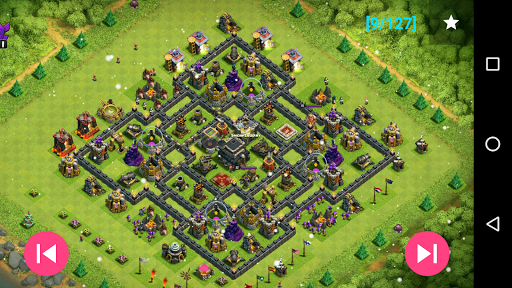 Maps of Clash Of Clans 1.30 screenshots 8