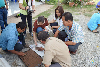 Photo: Training session , ToT1 in Tron district, Uttaradit