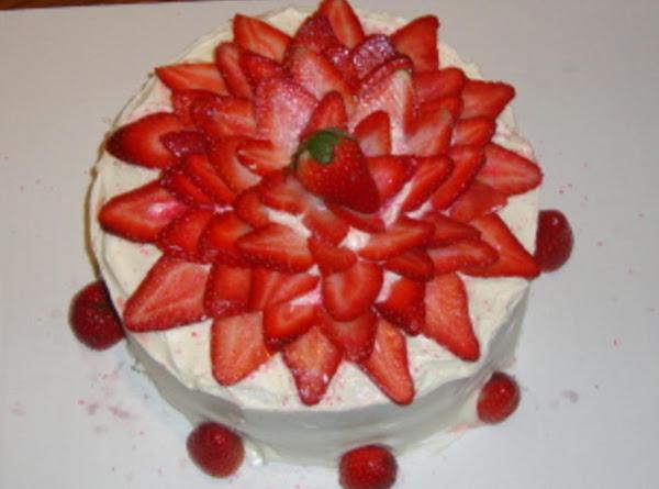 Strawberry Creamcheese Cake Recipe