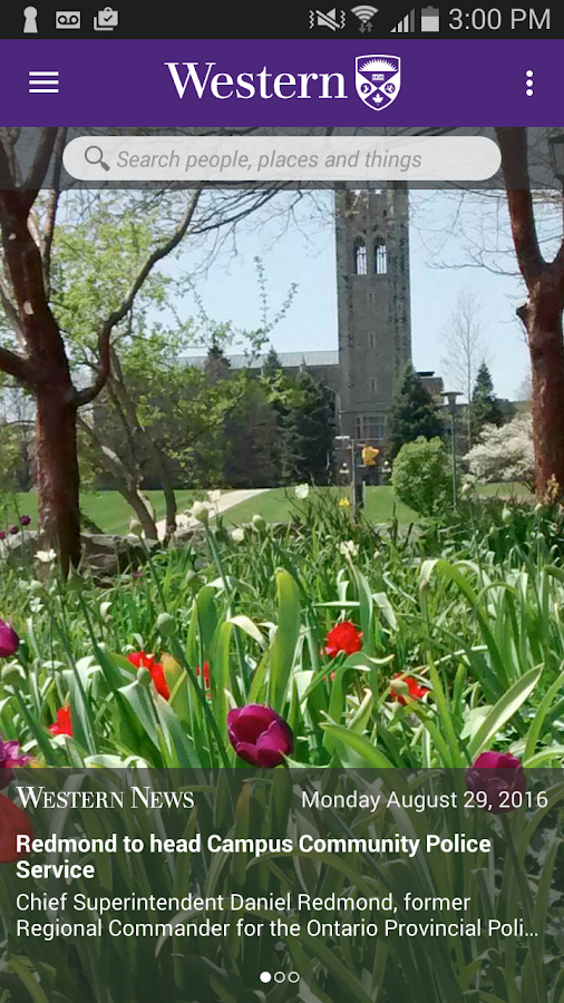 WesternU Mobile- screenshot