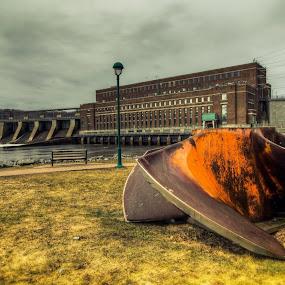 by Joe Hamel - Backgrounds Industrial