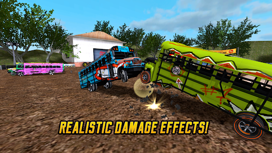 School Bus Demolition Derby- screenshot thumbnail