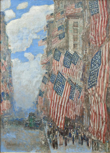 The Fourth of July, 1916 (The Greatest Display of the American Flag Ever Seen in New York, Climax of the Preparedness Parade in May)