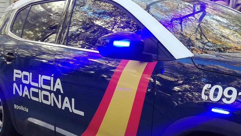Imagen de archivo de un vehículo de la Policía Nacional.