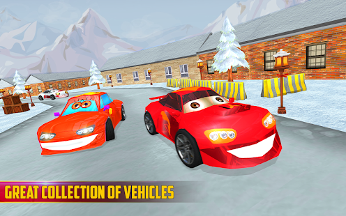 Kids Fun Racing Game 3D 2018 - náhled