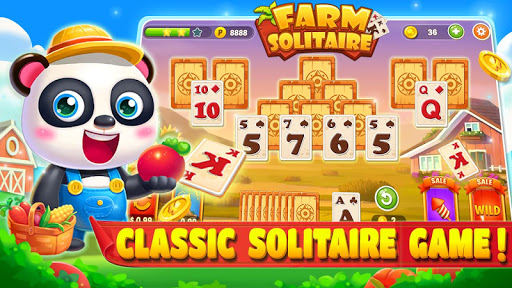 Solitaire Idle Farm captures d'u00e9cran 1