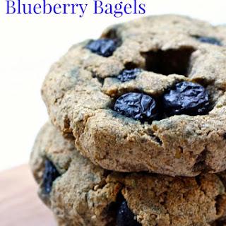 Paleo Wild Blueberry Bagels
