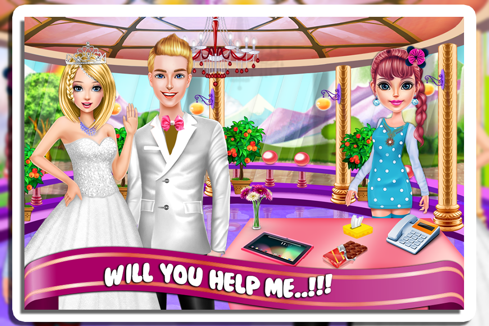 wedding planner events screenshot
