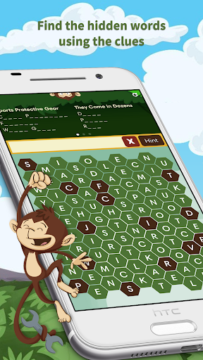 Monkey Wrench – Word Search Screenshot