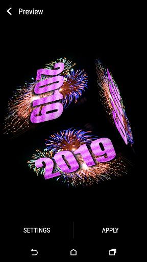New Year 2019 Live Wallpaper 1.12 screenshots 1