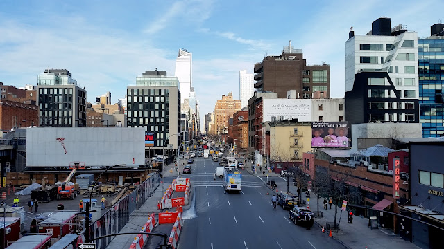 High Line at 10th Avenue