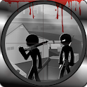 Stickman sniper shooter killer icon
