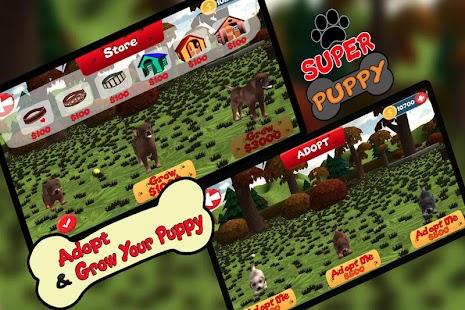 Super puppy adoption 3D game - náhled