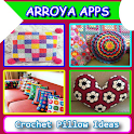 Crochet Pillow Ideas icon