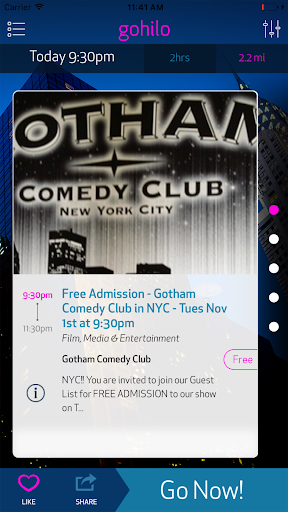 Gohilo - NYC Events Today Near screenshot