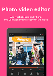 VideoShow-Video Editor, Video Maker, Beauty Camera APK screenshot thumbnail 3