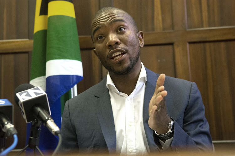 Democratic Alliance leader Mmusi Maimane to launch national petition opposing value-added tax (VAT increase. Image: TREVOR SAMSON.