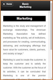 Basic Marketing - náhled