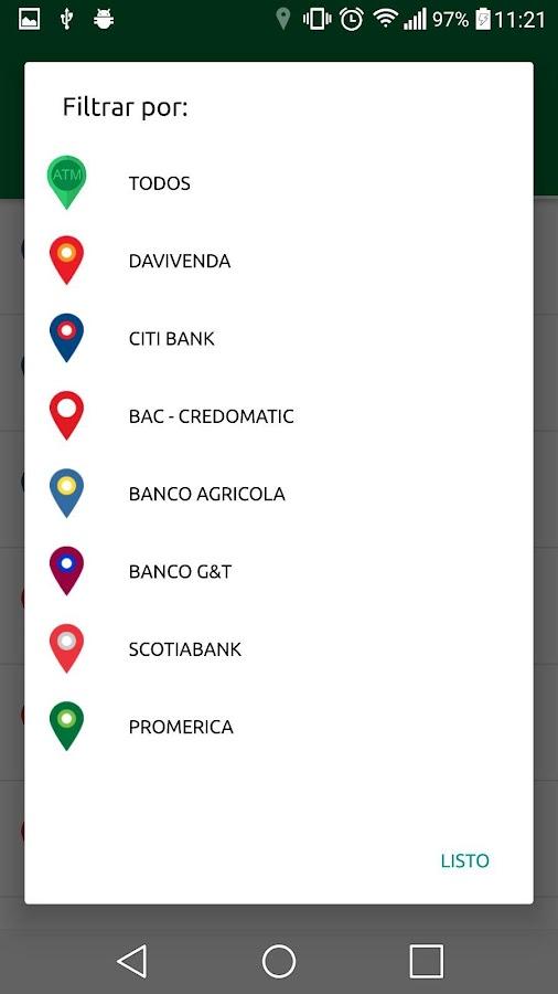 Los cajeros el salvador aplicaciones android en google play for Cajeros santander cerca de mi