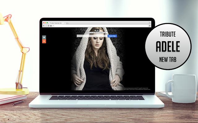 Adele Tribute New Tab