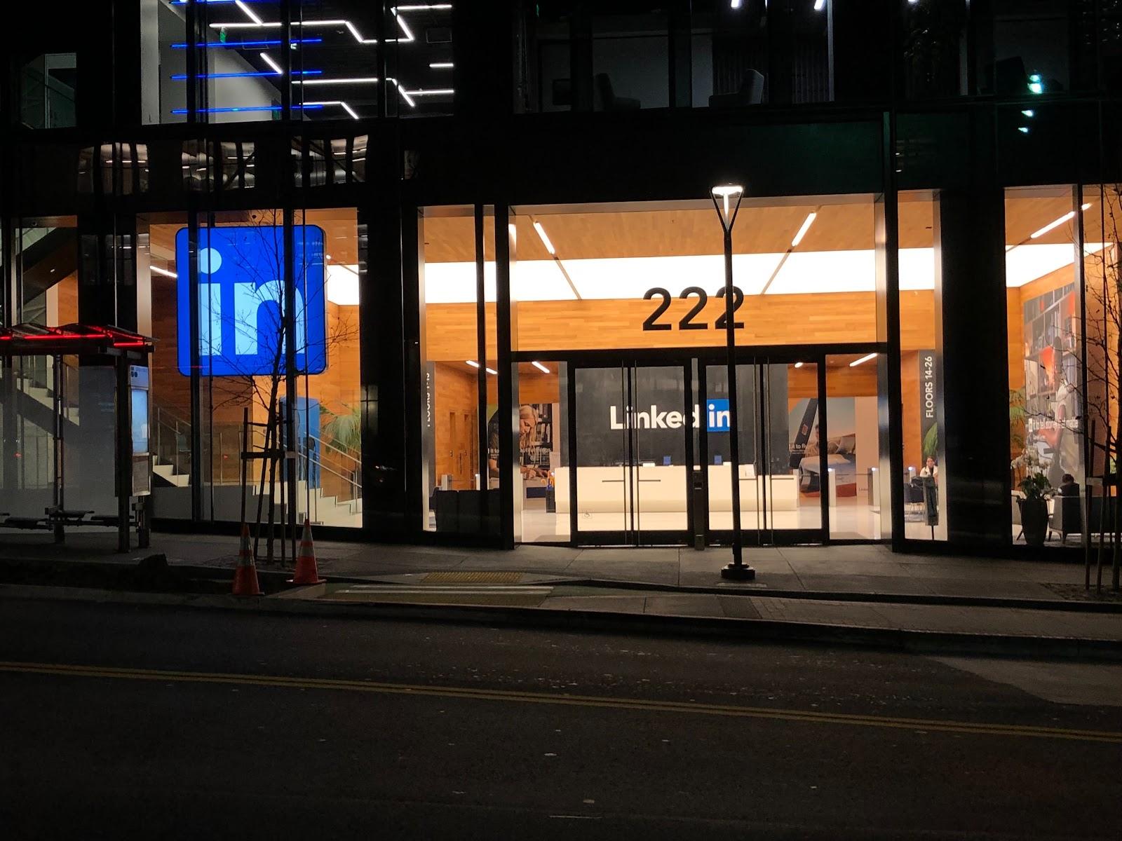 LinkedIn headquarters, where the magic of marketing happens