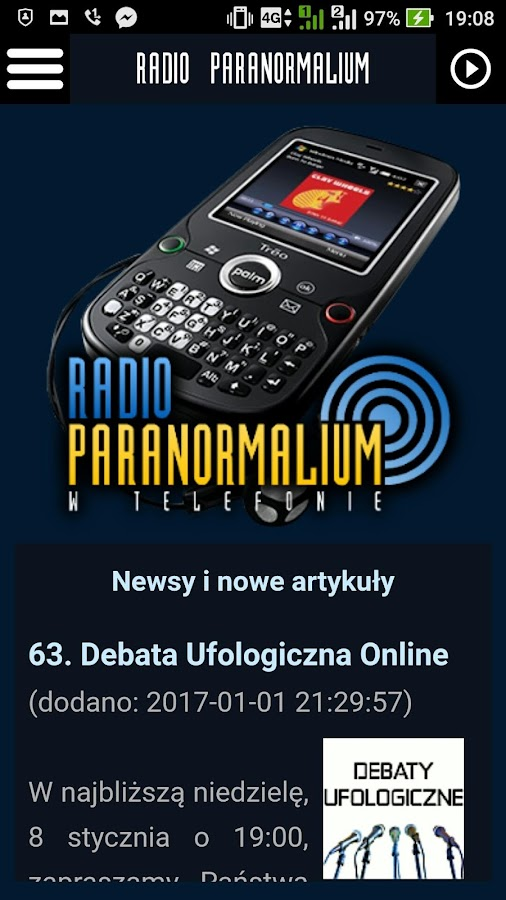 Radio Paranormalium- screenshot