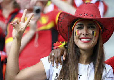 Le charme des supportrices belges à Bordeaux