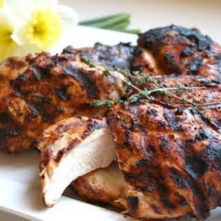 Chicken Breasts With Spicy Rub.