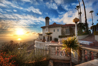 """Photo: This is the """"Guest House* at Hearst Castle...  It would have been nice to be friends with the Hearsts back the day... !"""