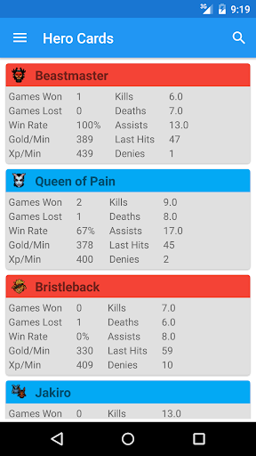 Download Match Stats Tracker for DotA 2 Google Play