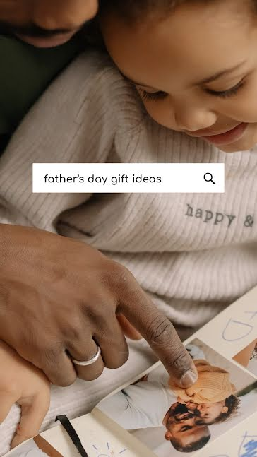 Dad Gift Ideas - Father's Day template