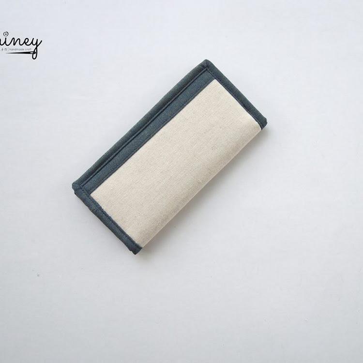 Handmade Long Wallet (Coffee)